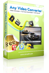Any Video Converter Free Version Icon