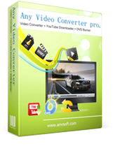 Any Video Converter kann Videos konvertieren und Online Videos runterladen.