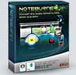 NoteBurner Audio Converter software box