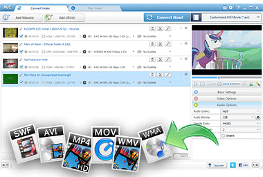 Any Video Converter - Kostenloser Video Konverter