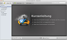 Any Video Converter for Mac Screenshot